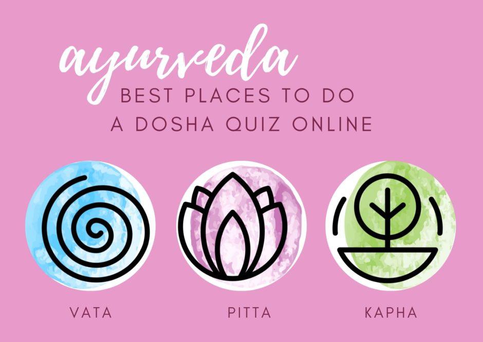 best places to take online dosha quiz