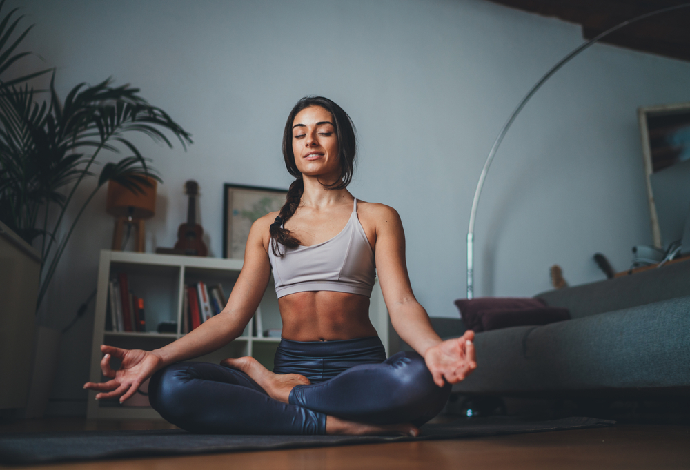 HOW TO MEDITATE AT HOME setting up the space