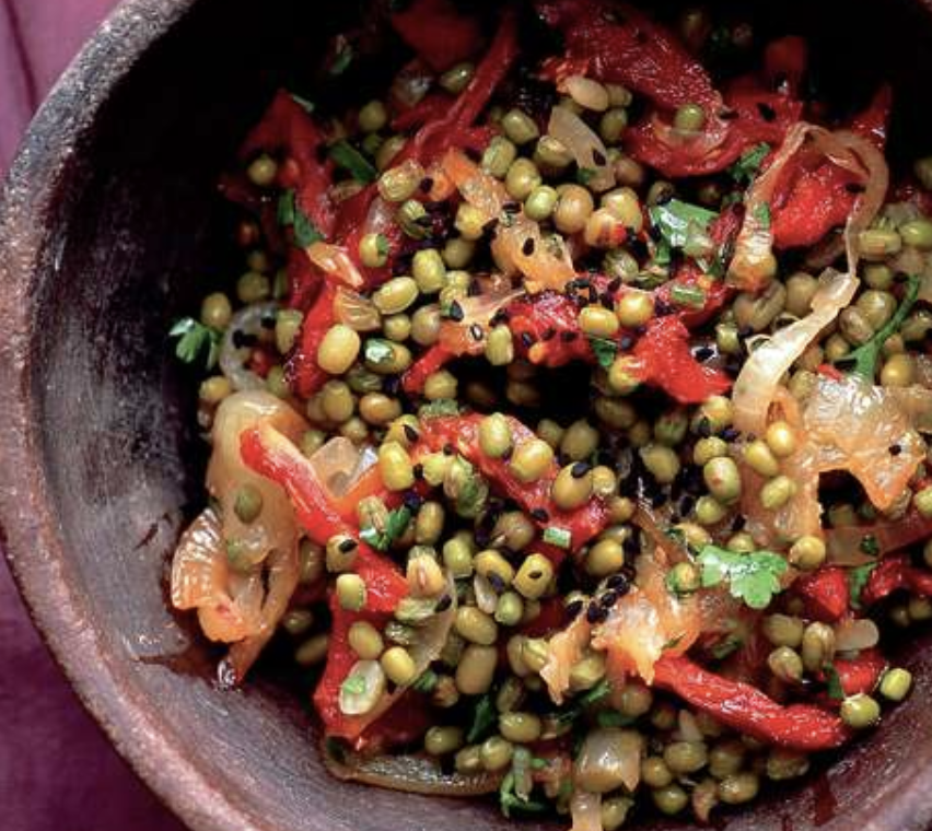 Mung Bean recipes with onions