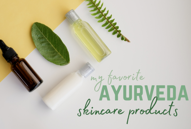 ayurveda skincare products