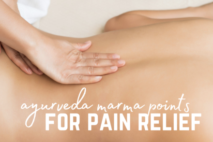 marma points for pain relief