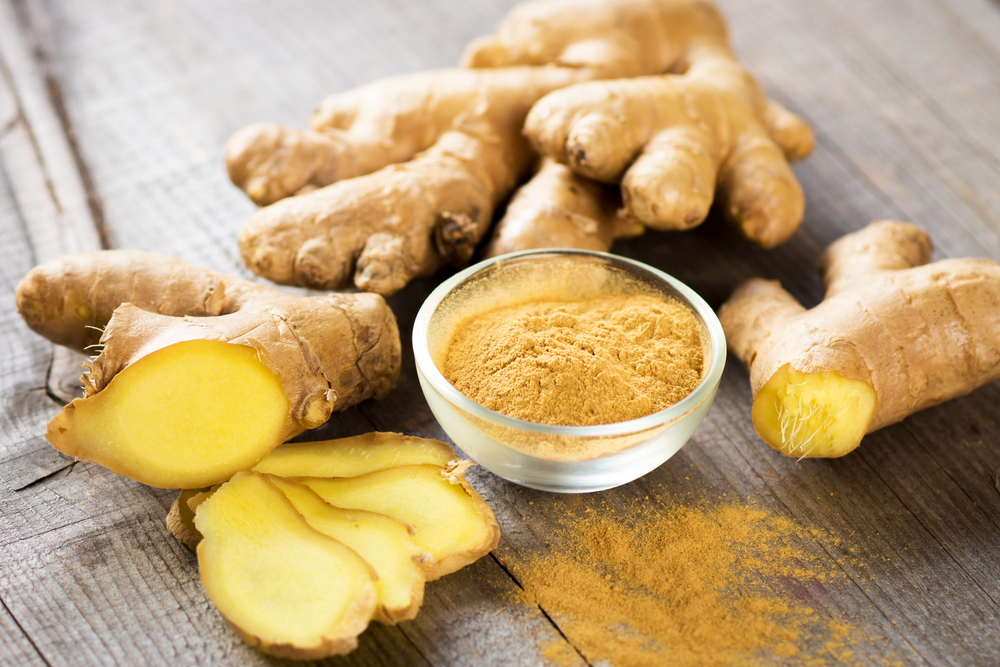 the health benefits of ginger powder