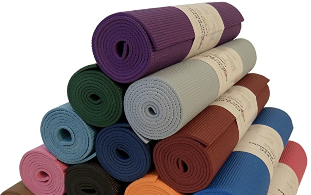 thick yoga mat for joint pain