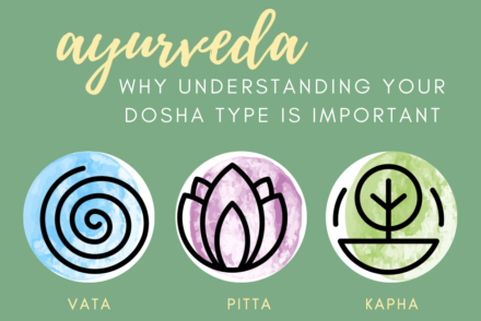why learning your dosha is important