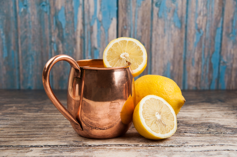 benefits of drinking from a copper cup