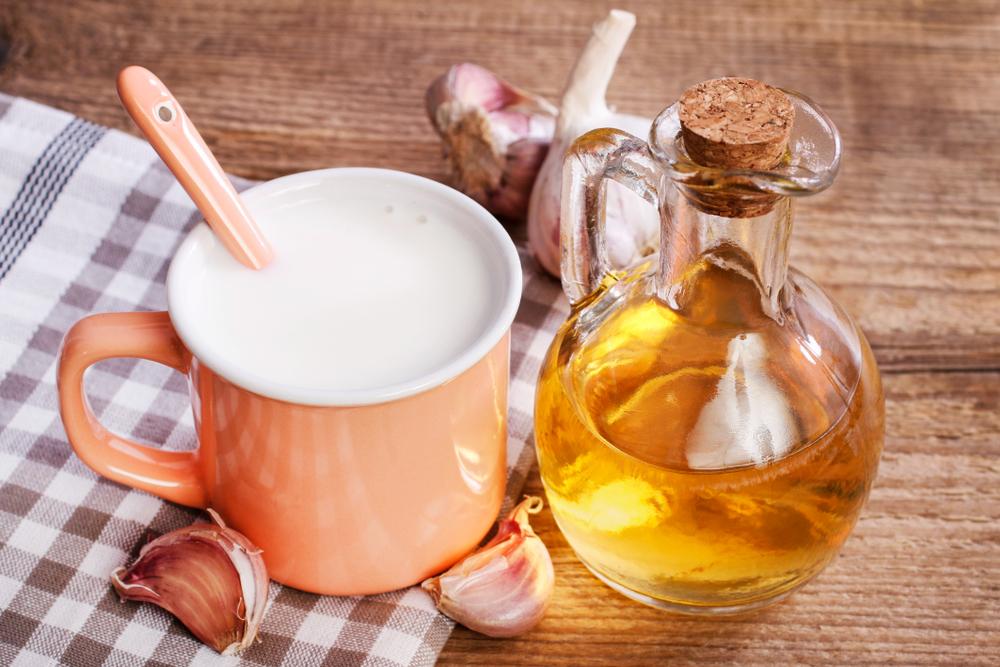 garlic milk recipe