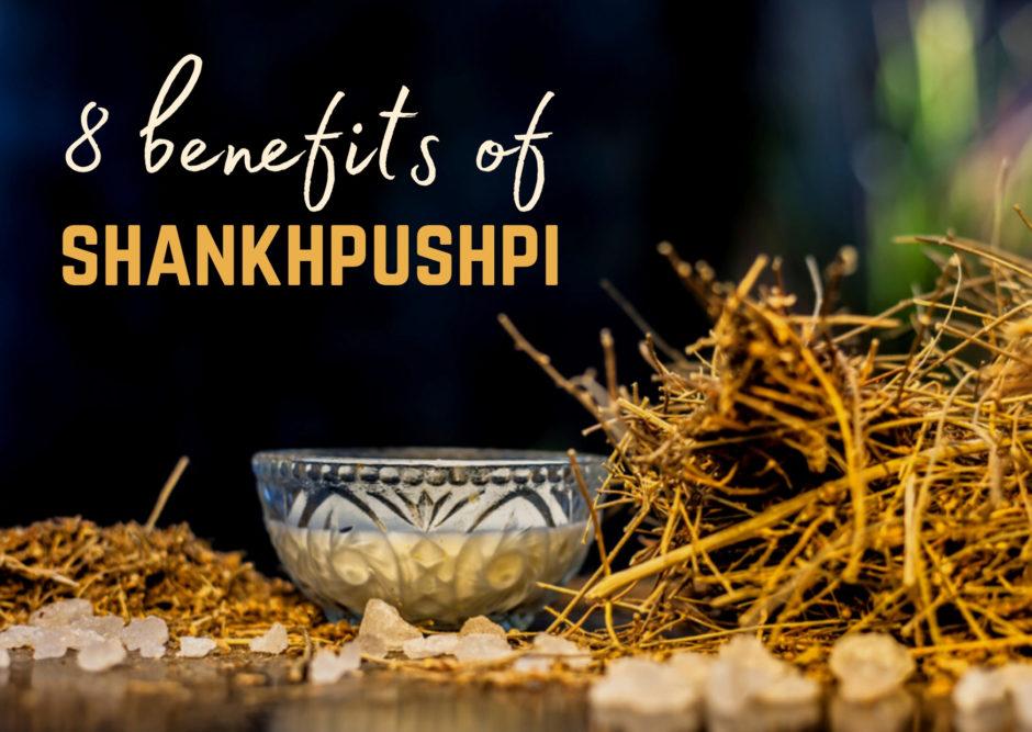 health benefits of Shankhpushpi