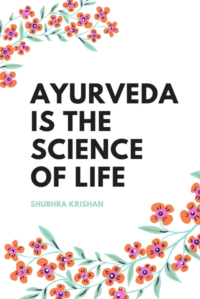 list of ayurveda quotes
