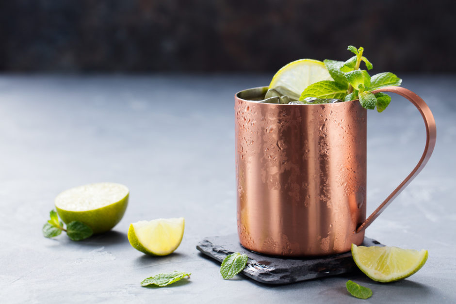 the benefits of drinking water from a copper cup