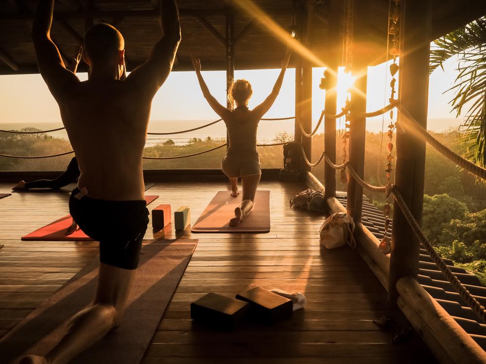 what happens on a yoga retreat