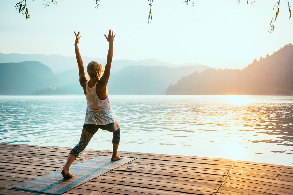 what is going on a yoga retreat actually like