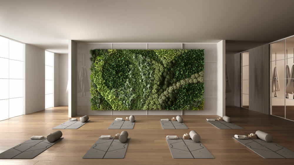 how to design your own yoga room